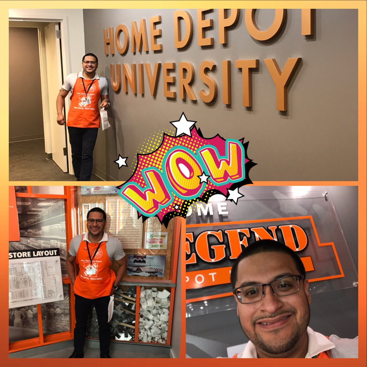 Blessed to be at the Home Depot Store Support Center. Awesome experience#homedepot #teamorange #teamdepot #Atlanta #fun #me <br>http://pic.twitter.com/zIIBIafzng &ndash; bij The Home Depot Store Support Center