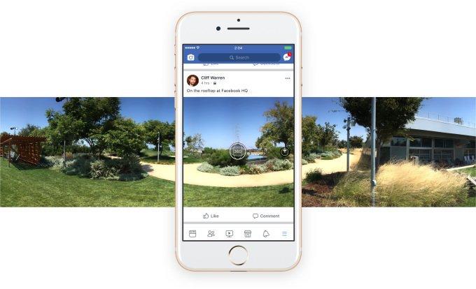 Facebook now lets you take 360 photos in-app, use them as Cover Photos #tech via Darrell Etherington  http:// ift.tt/2xt9nxf  &nbsp;   #BigData #ML … <br>http://pic.twitter.com/KEl2u8NvKU