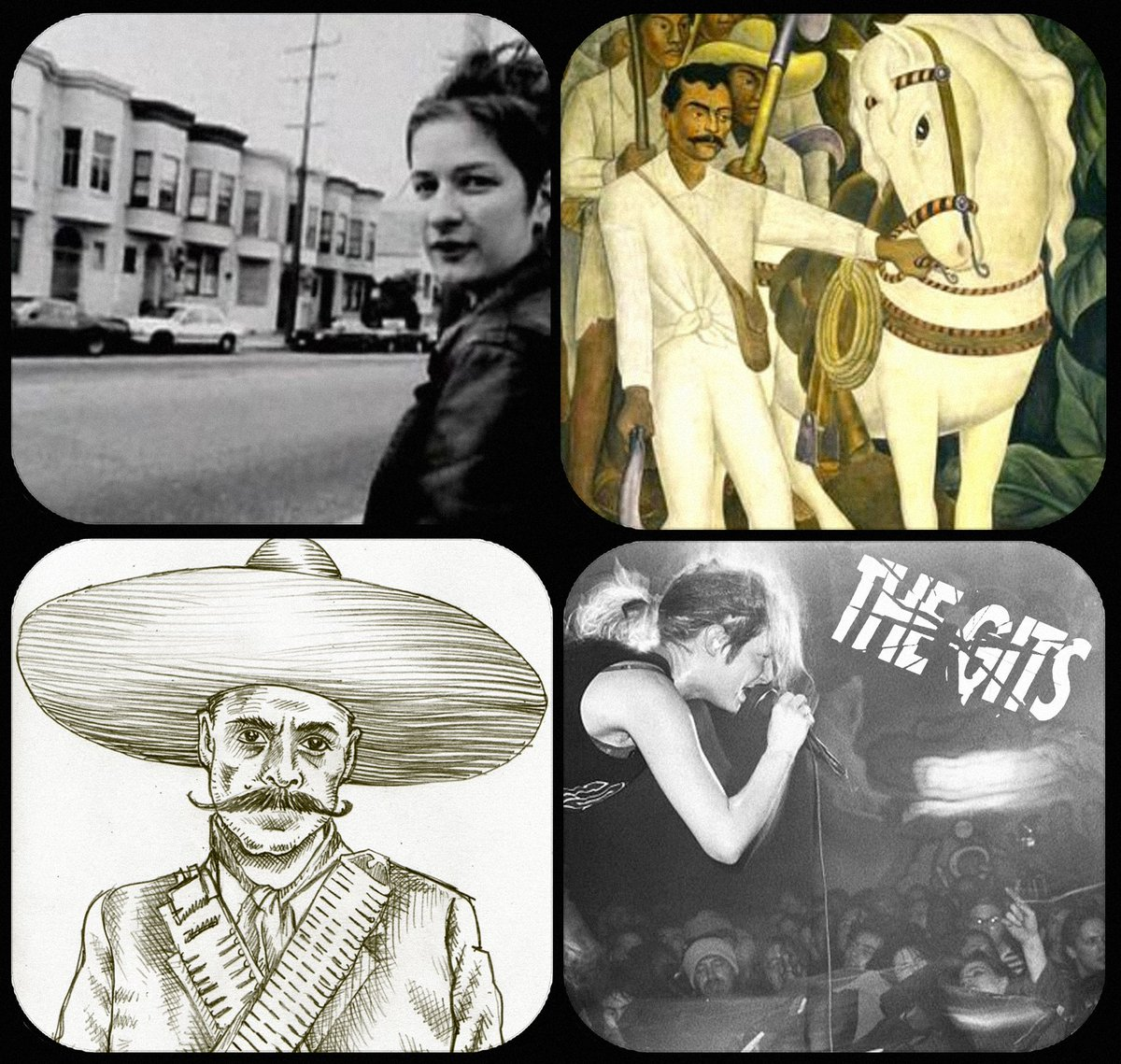 Educational project combining the stories of Mia Zapata & Mexican revolutionary Emiliano Zapata, donations here: https://t.co/NDkV82Jnvm