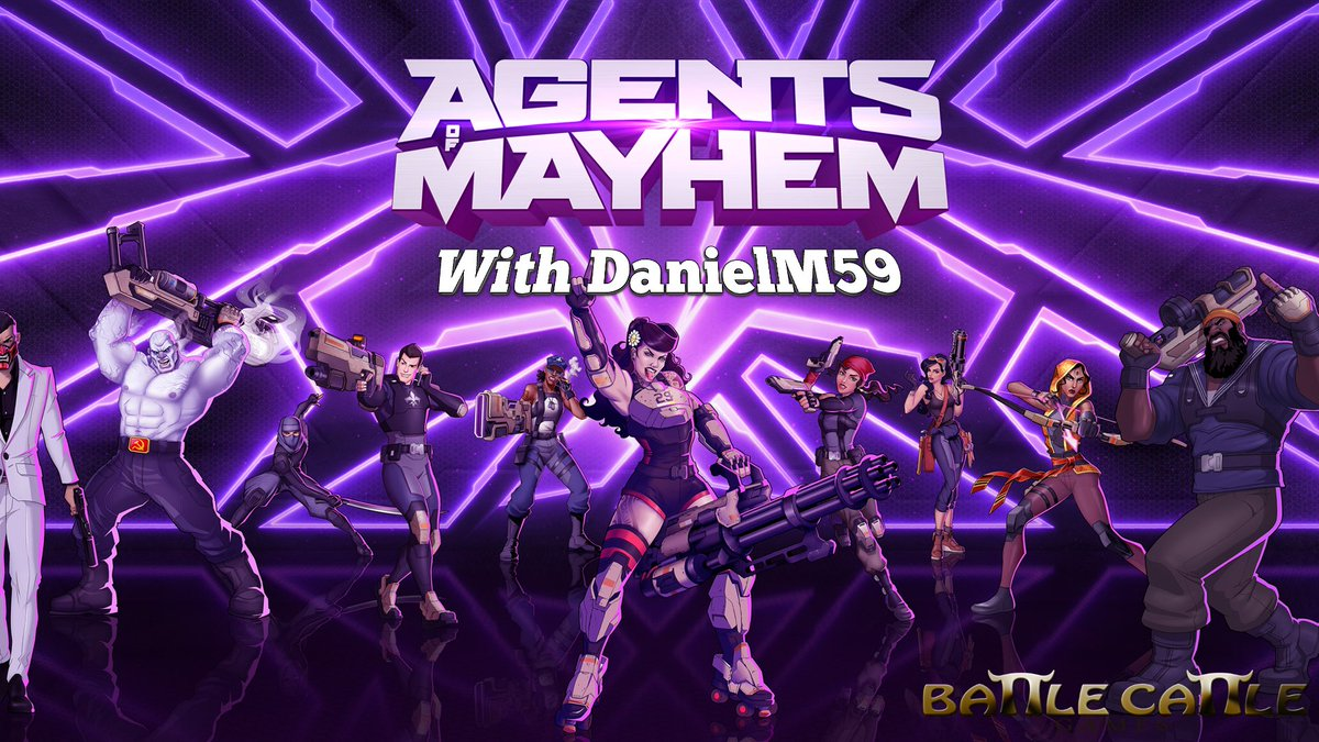 Live at 7pm  http:// twitch.tv/DanielM59  &nbsp;   playing Agents of Mayhem. Come join the fun. #BCUK #GamersUnite <br>http://pic.twitter.com/vnE2b563VN