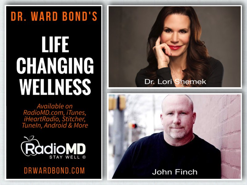 Had two great #radio interviews with @LoriShemek &amp; @johnpfinch @thefathereffect on @YourRadioMD Life Changing Wellness today! #wellness <br>http://pic.twitter.com/ybX4TEYDFD