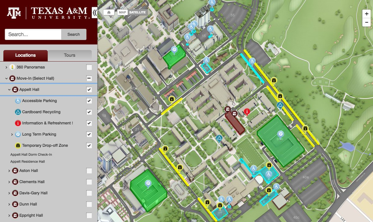 Amc Campus Map.Campusbird Now Concept3d Maps On Twitter Freshmen Students