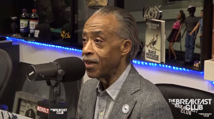 .@TheRevAl talks JAY-Z, #Charlottesville and more with the @breakfastclubam https://t.co/lyWBom8NJH