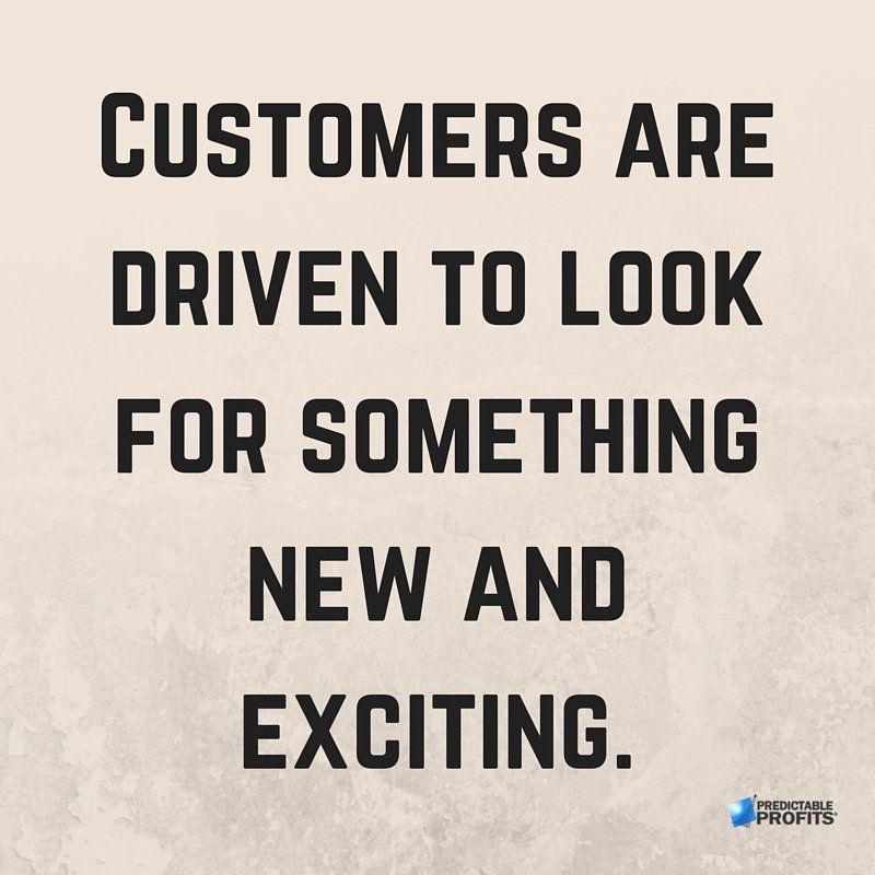 Having an ordinary #Sale isn't good enough… #Customers are driven to look for something new and exciting. <br>http://pic.twitter.com/iJ0YelmueN