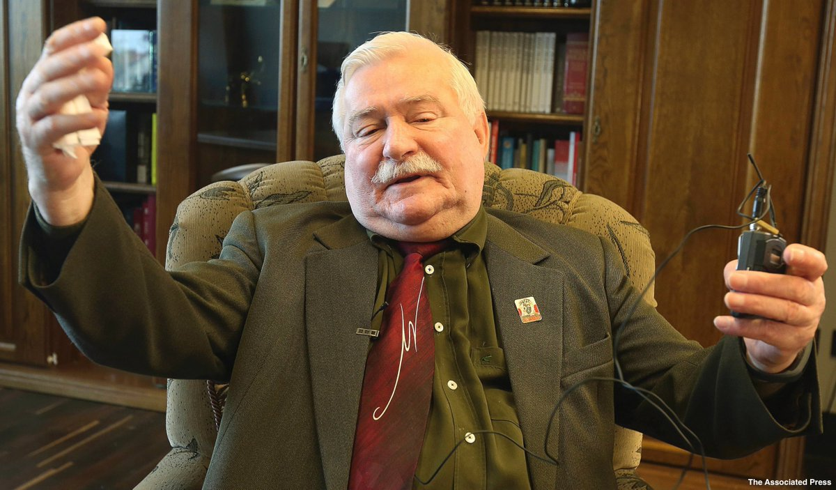 Polish democracy icon Lech Walesa and some opposition politicians say he is being harassed by the ruling party https://t.co/SPnZ7Vi5MY