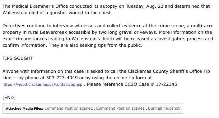 Clackamas Sheriff on Twitter: