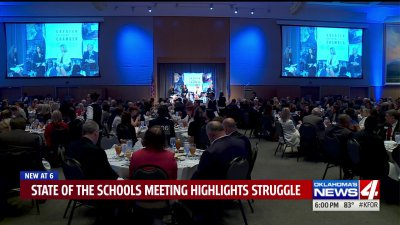 'Our businesses won't be able to grow,' Business leaders discuss state of Oklahoma schools https://t.co/0XevNqNE3b