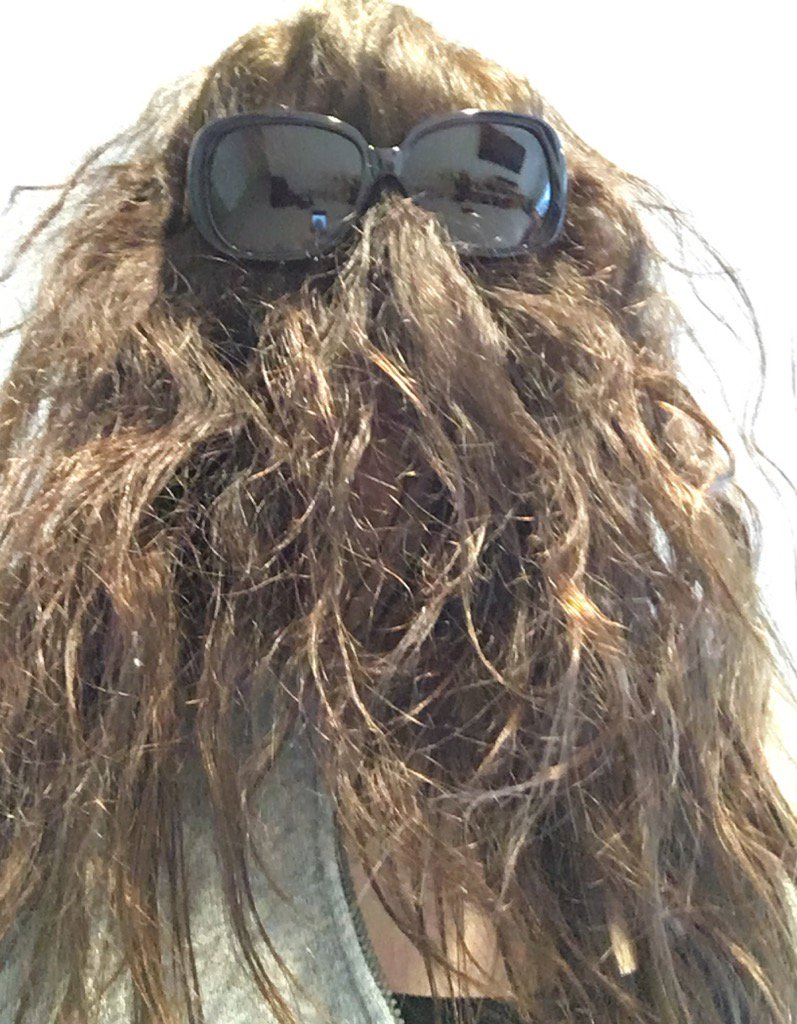 Seriously, I'm turning into Cousin It or Chewbacca or something... #humidity