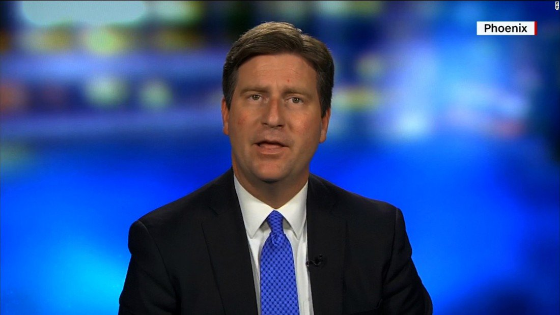 Phoenix mayor Greg Stanton says Trump continued 'to divide this country' with his rally speech https://t.co/W6pYxiaJ3x