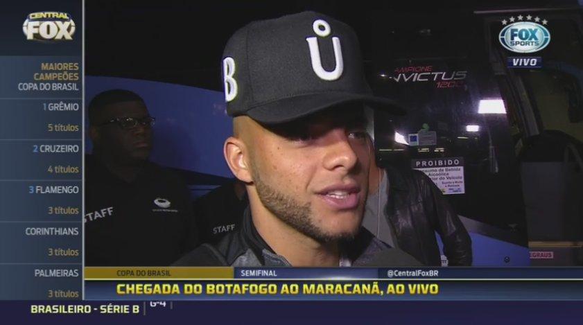 ⚫️🌟⚪️'Desde o começo a gente era meio desacreditado, mas hoje vamos provar mais uma vez que podemos', Guilherme, do @BotafogoOficial.