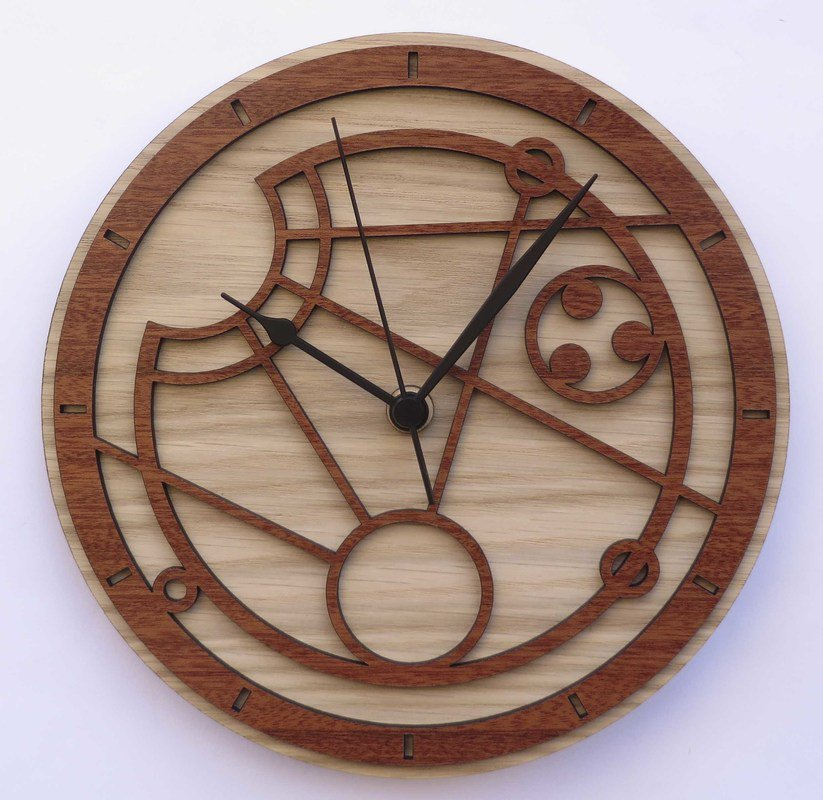 Handmade #Gallifreyan clock in wood with your own name #DoctorWho #christmasshopping #GiftsIdeas -  https://www. etsy.com/listing/272555 588/custom-gallifreyan-wood-clock-with-your?ref=shop_home_active_7&amp;ulsfg=true &nbsp; … <br>http://pic.twitter.com/36Gb2fWSrB