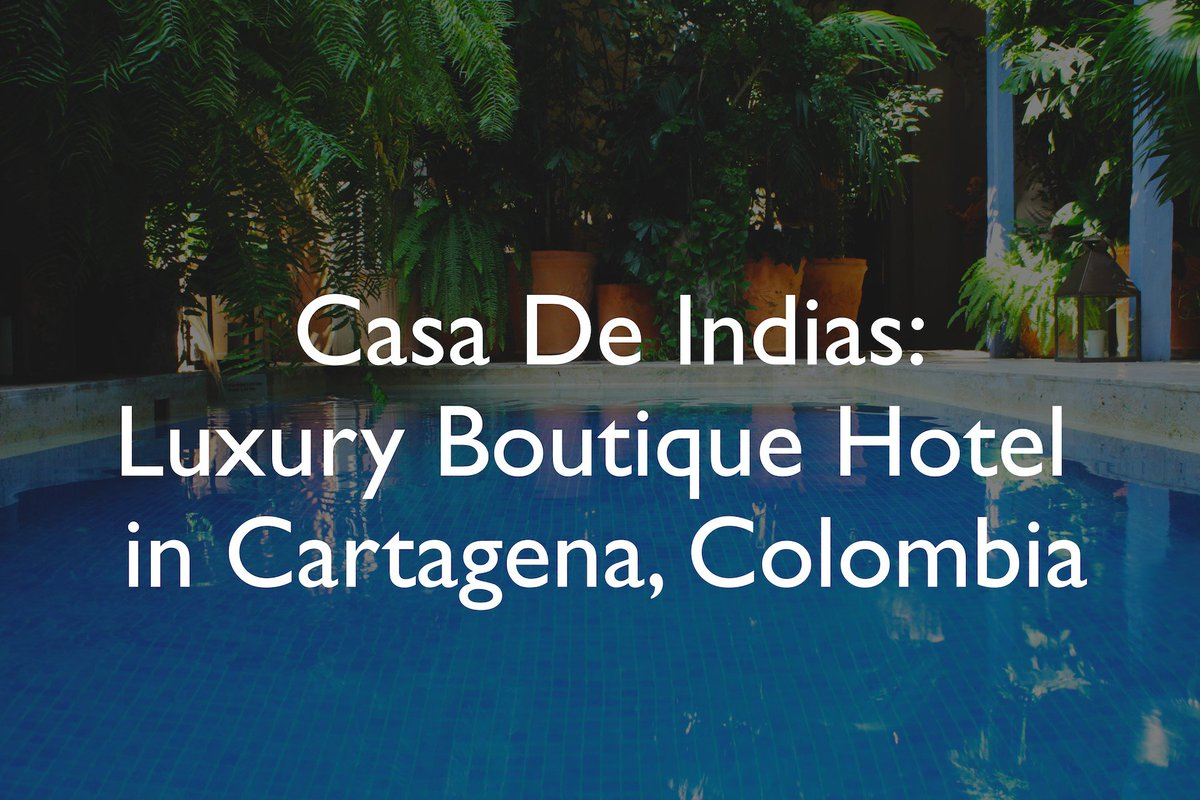 TRAVEL VIDEO ALERT! feat. a luxurious colonial villa in the heart of Cartagena, #Colombia   https:// youtu.be/NJFn1ZRdVlQ  &nbsp;    #travel #travelblogger <br>http://pic.twitter.com/Rhne19cVpD
