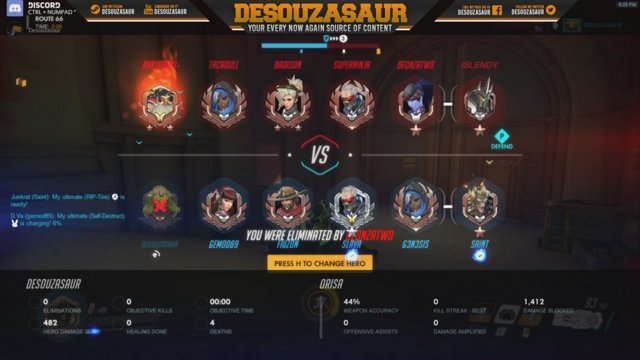 *LIVE on #Twitch playin&#39; Overwatch - Catch me here:  http:// ift.tt/2tbWHN1  &nbsp;   || #SupportSmallStreamers @SupStreamers #GamersUnite <br>http://pic.twitter.com/yY1ucFgr8K