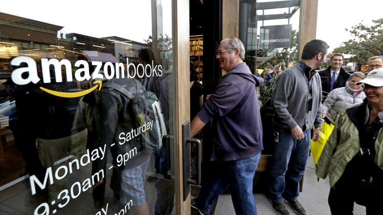 Amazon opens a brick and mortar bookstore in Silicon Valley — plus another — this week https://t.co/pRTEu0E9zK