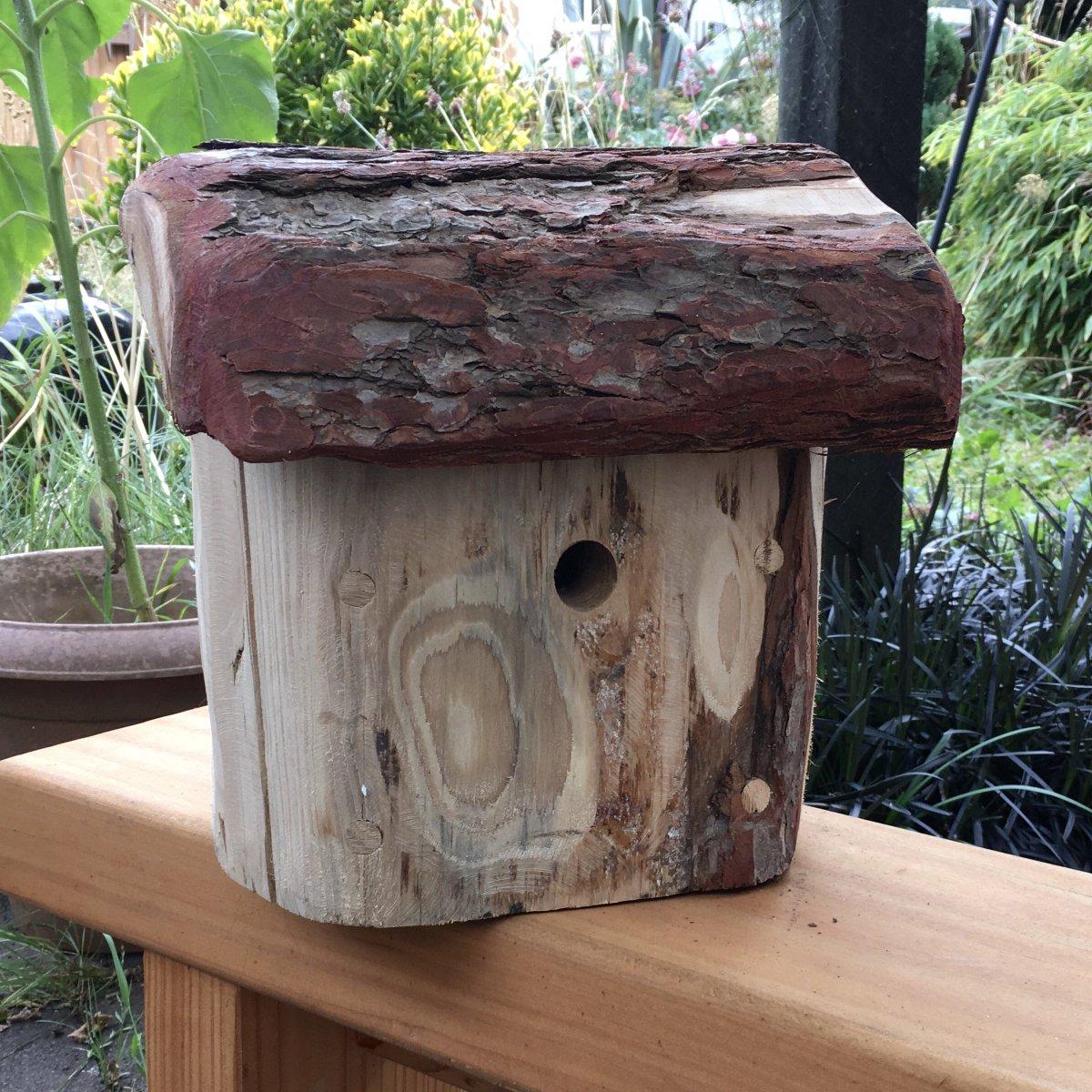 Lewis on twitter this bird house was handmade from recycled lewis on twitter this bird house was handmade from recycled larch etsy httpst1tb2c7fw5s midlandshour handmadehour organichour shropshire sciox Image collections