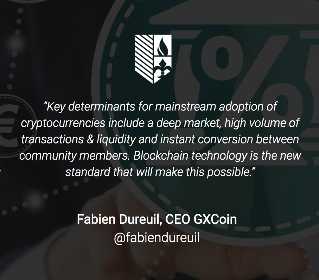 #GxCoin is excited to bring #blockchain tech to local businesses &amp; communities. #GXC&#39;s low volatility aides mainstream adoption of #crypto.<br>http://pic.twitter.com/ymiyck3spZ