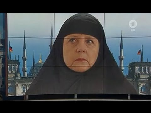 Well Angela #Merkel  Because of YOUR false shame guilt and WIEDERGUTMACHUNG can ALL Europeans ROT away in Islam?  #Elections #StopIslam<br>http://pic.twitter.com/fjdVy13cxJ