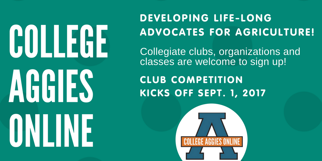 Our @AggiesOnline scholarship competition kicks off next month!  http:// bit.ly/2sYNiVS  &nbsp;   #CAO17 <br>http://pic.twitter.com/5pvR0DQOkE