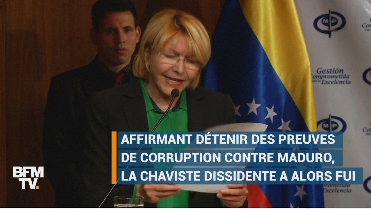 VIDEO - Qui est Luisa Ortega, chaviste devenue bête noire du régime vénézuélien https://t.co/L8EZNjd7Hd