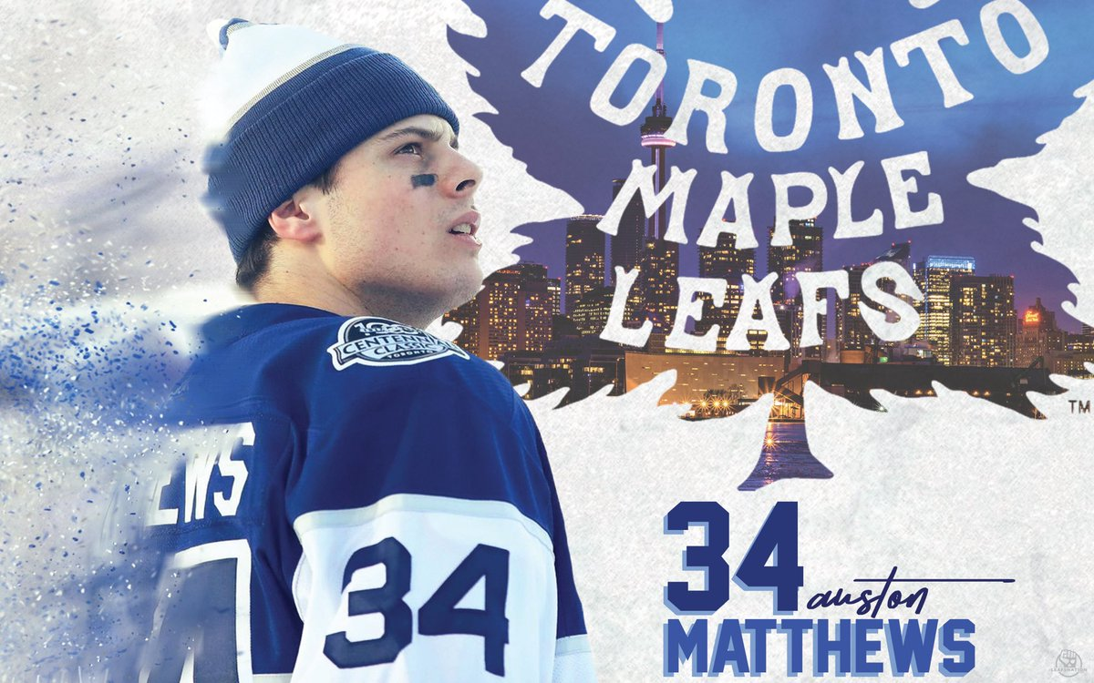 The Leafs Nation On Twitter Have You Heard Of This Auston Matthews Guy Hes Pretty Good And Heres A Nice Couple Wallpapers Him By Meggo1532