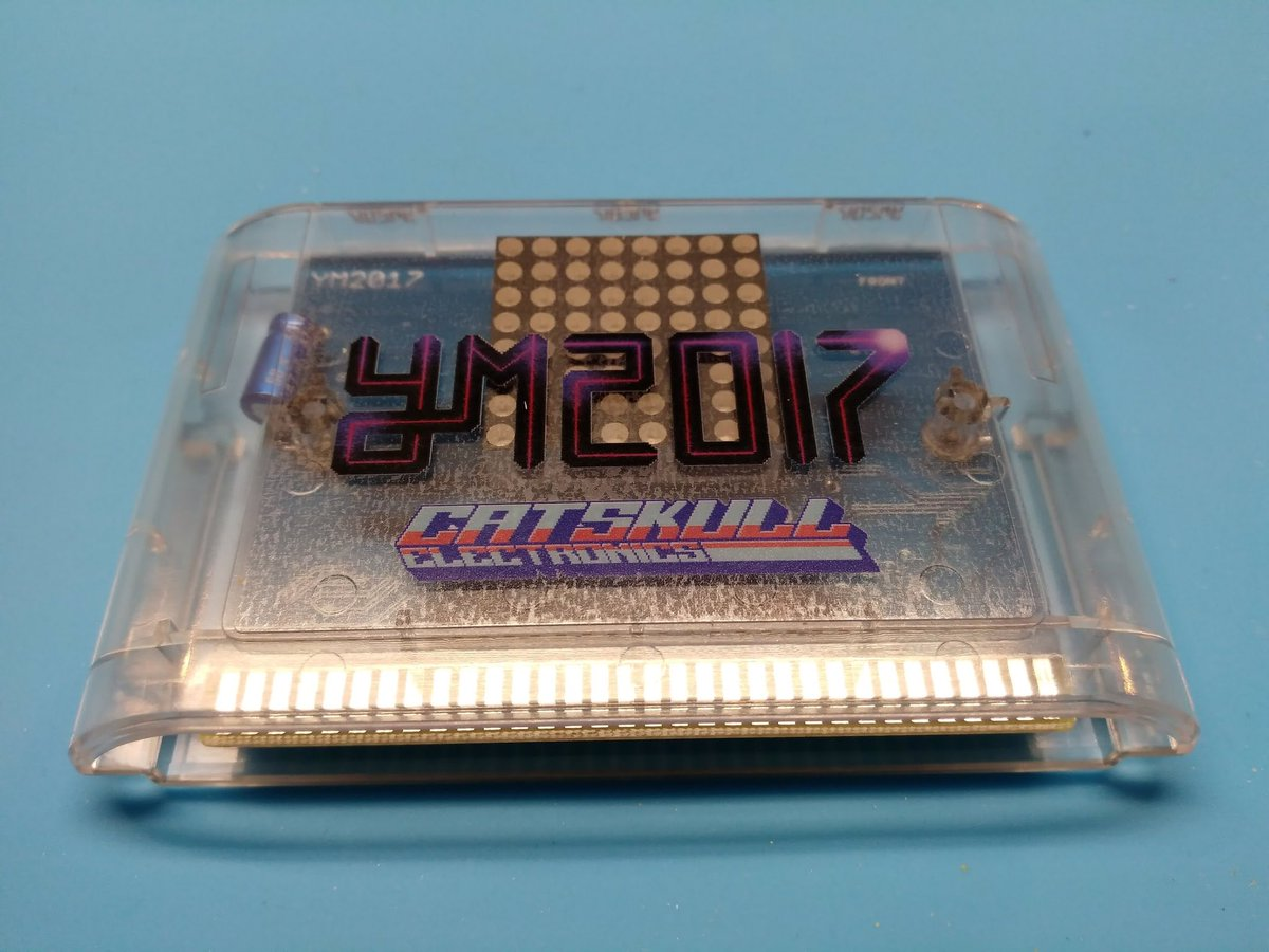 &lt;48hrs left!! Pre-order this 9-track #Sega #Megadrive music cart from  https:// catskullelectronics.com  &nbsp;  ! #vgm #genesis #retrogaming #gamersunite  <br>http://pic.twitter.com/uqWCFytjzk