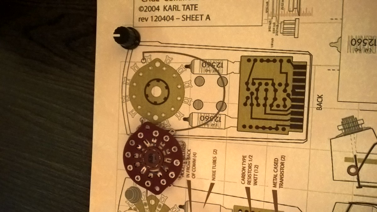 Nixie Tube Clock Controller Chip Model 4d Nixie Clock Chip 14 99