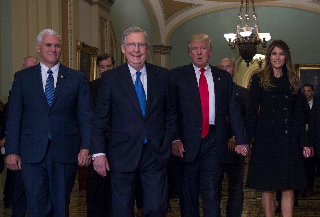 Sen. Mitch McConnell says he and Pres. Trump are in regular contact and working together on shared agenda https://t.co/8mNgZ9bUtK