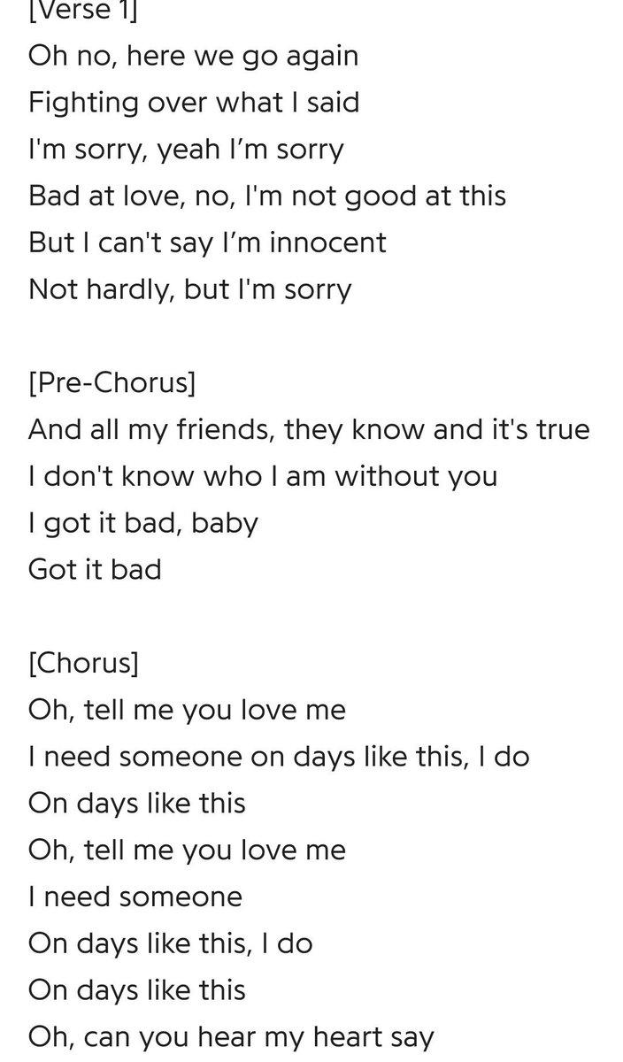 Tell me how to love you good lyrics