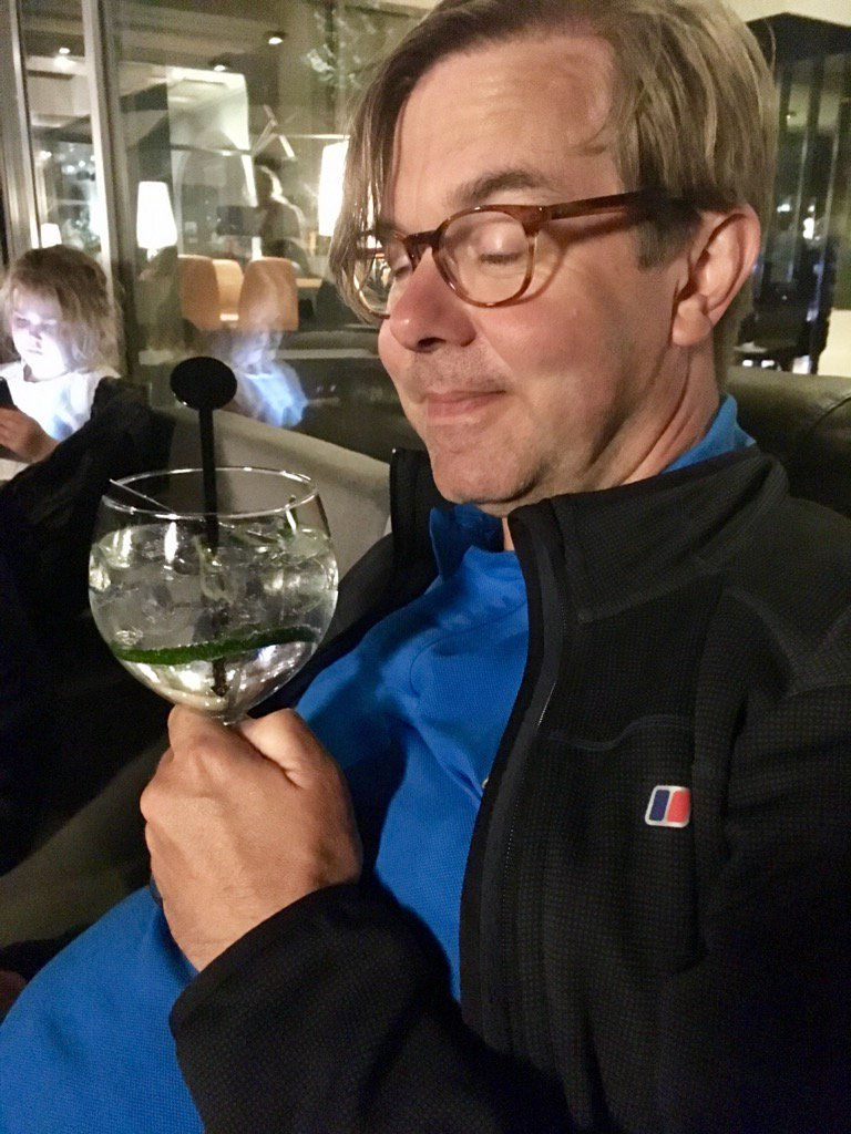 Happy with his #gin @KaiserJonny #Ypres #holiday <br>http://pic.twitter.com/GwE6HdKsx1