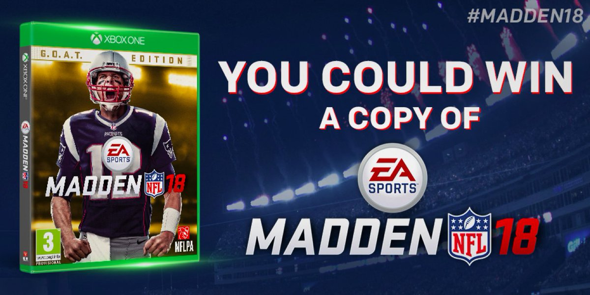 It's that time of the year!  We're giving away 25 copies of @EAMaddenNFL 18! RT to enter to win! #Madden18