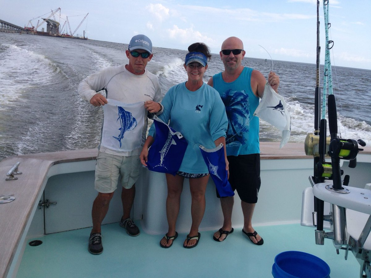 Manteo, NC - Pelican released a Grand Slam with a Blue Marlin, 2 White Marlin and a Sailfish.