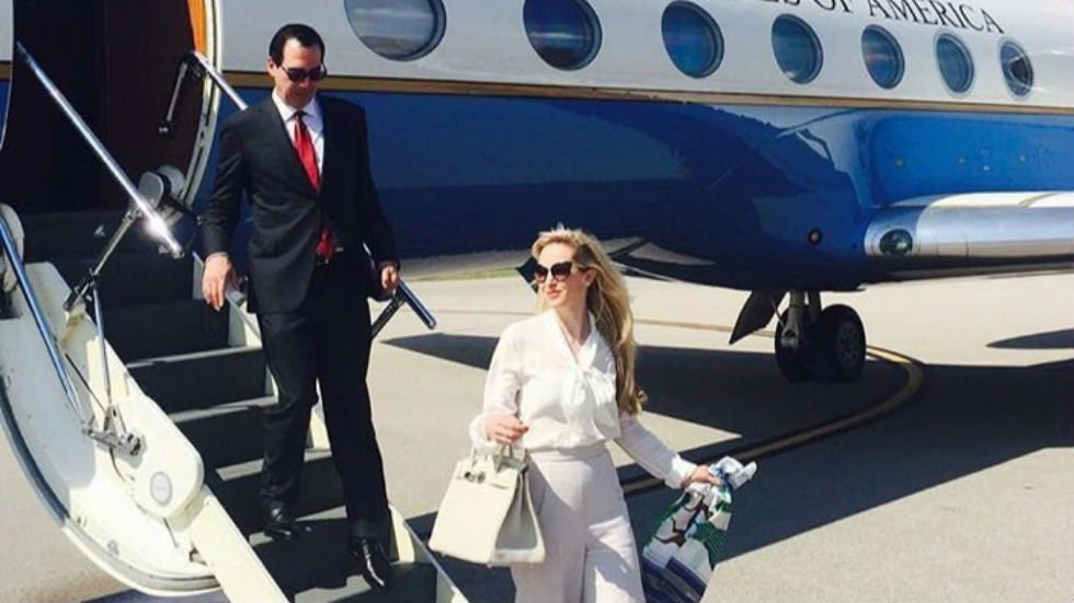 JUST IN: Watchdog group: Mnuchin and wife may have used government plane to go see solar eclipse https://t.co/WS5uZz5x9o