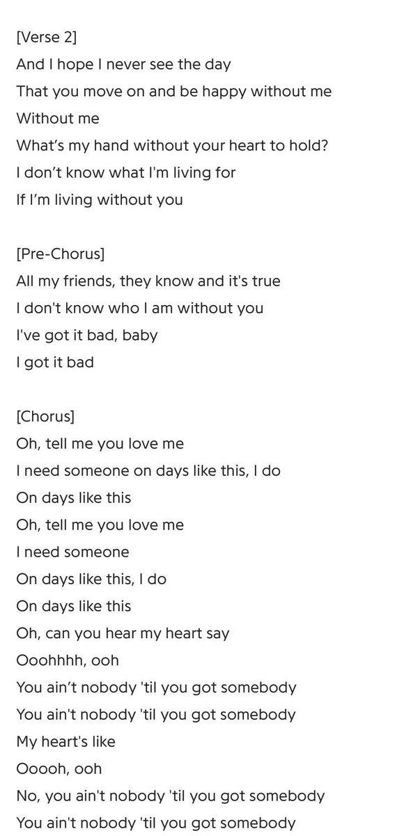 Lyric don t tell me what to do lyrics : Lovatics WorldWide on Twitter: