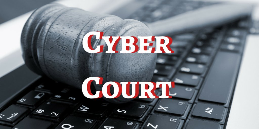 China launches the 1 ever cyber court to settle online disputes. #cybersecurity #security  http:// bit.ly/2vYvAp0  &nbsp;   <br>http://pic.twitter.com/q1dGMeyqKK