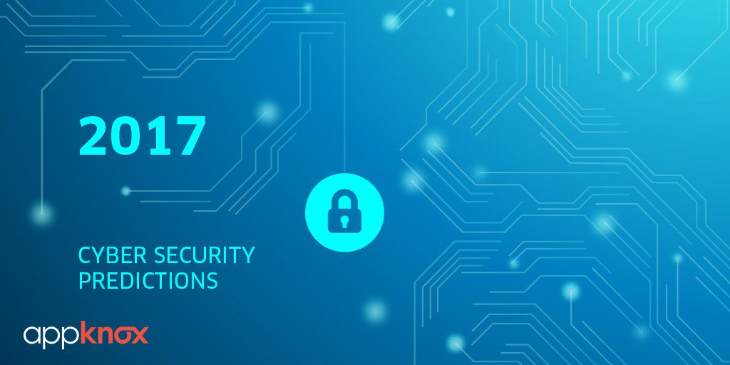 7 Alarming #Cybersecurity Predictions for 2017  https:// hubs.ly/H08rqjm0  &nbsp;   #Infosec #DDoS #Malware #Ransomware #MobileSecurity #Startup #AI #ML <br>http://pic.twitter.com/xqBIq6MYZ3