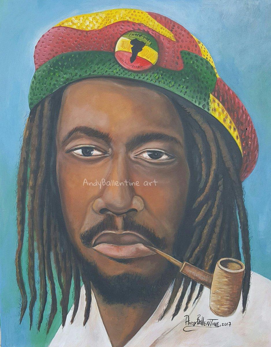 Jamaica Reggae Legend @PeterTosh #Jamaican # MyArtWork #Art # Peter Tosh #AndyBallentineArt # Painting #Canvas #Jamaican #Art Works #Classic<br>http://pic.twitter.com/p7qY5mSLBC