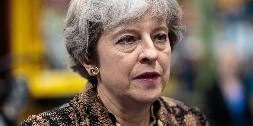 Theresa May retreats from her pre-election rhetoric on Britain's legal system after Brexit https://t.co/Dd0SHDQQ5S