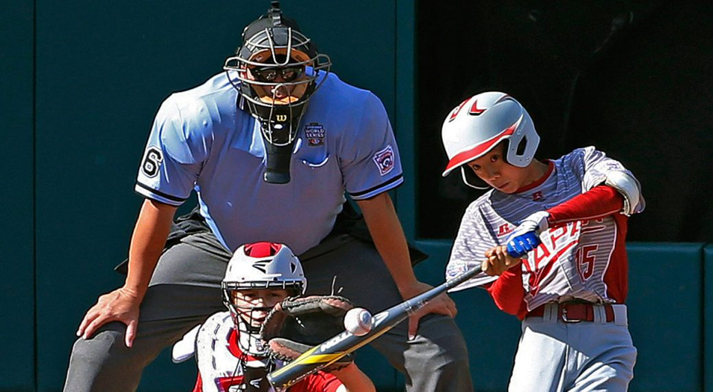 Canada held to one hit by Japan in loss at Little League World Series.  https://t.co/u2TGZbtwo5