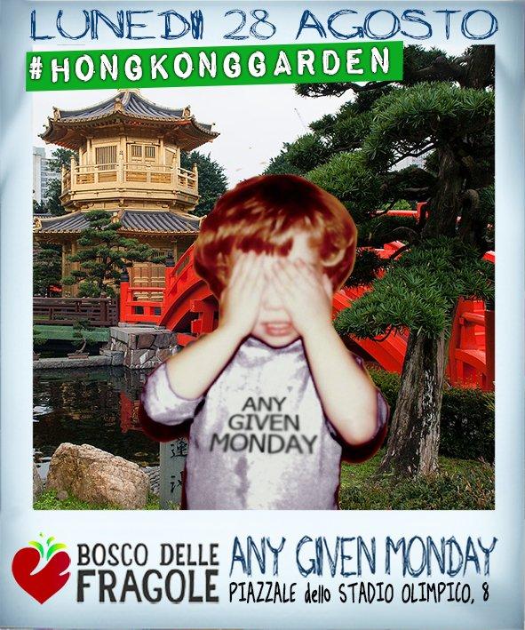 Any Given Monday #HongKongGarden @ Bosco Delle Fragole