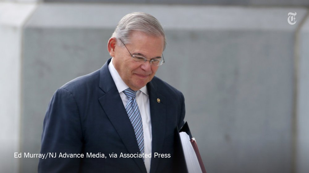 This fall, Robert Menendez will have to choose between attending his corruption trial and casting Senate votes https://t.co/VhORUxs0KP