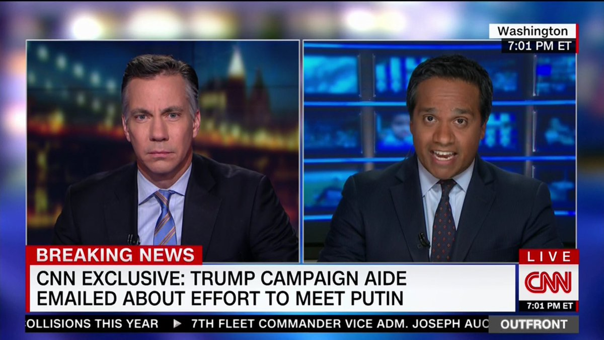 CNN exclusive: Rick Dearborn emailed about an effort to set up a meeting between Trump campaign & Putin in June 2016 https://t.co/Dpsvn2Ie7H