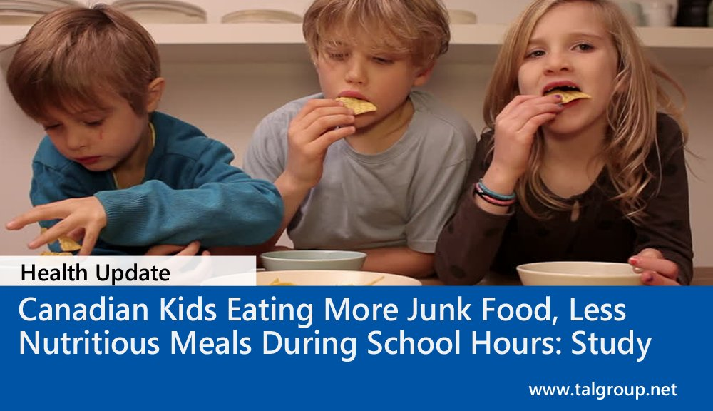 Canadian Kids Eating More Junk Food, Less Nutritious Meals During School Hours: Study  https:// buff.ly/2w4yfMm  &nbsp;   via @CTVNews #Health #Canada<br>http://pic.twitter.com/6OPJ6WLRd1