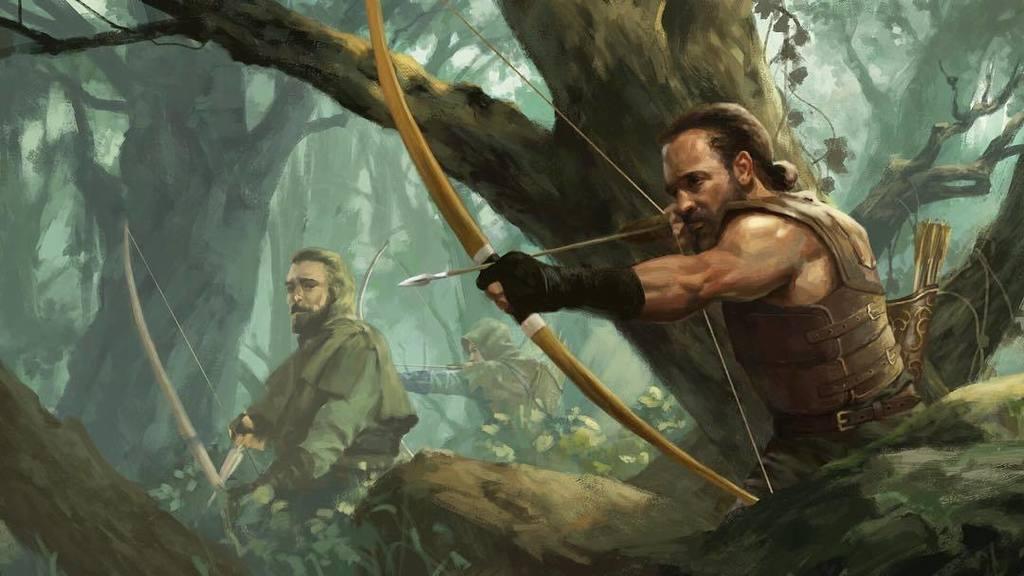 "Joseph Qiu Art on Twitter: ""Jungle Rangers. #archery #archer #fantasy  #conceptart #rangers #magic #painting #photoshop #digitalpainting #art …  https://t.co/5mbjB4p75S… https://t.co/bwknwqQ3Eo"""