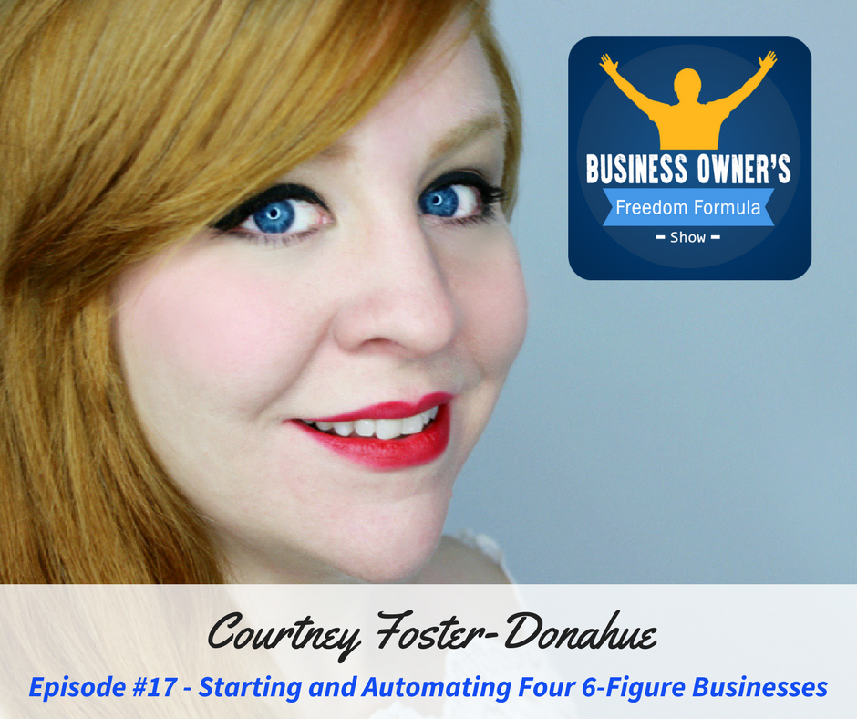 Four 6-figure businesses...on auto-pilot. Not bad  Check out this week&#39;s interviewee, @CourtneyFoDo  https:// buff.ly/2vof1zo  &nbsp;   #smallbiz <br>http://pic.twitter.com/6qaoTVKjAC