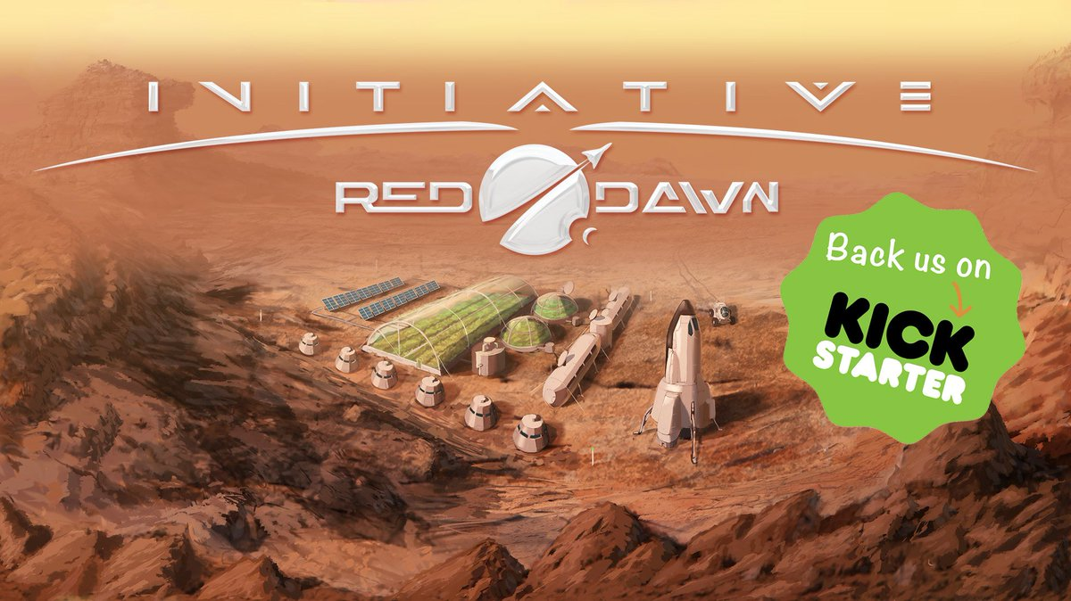 Initiative: Red Dawn, aerospace business sim #Kickstarter is live! Don&#39;t miss early birds  http:// goo.gl/8SZoNB  &nbsp;    #gamedev #gaming #unity3d<br>http://pic.twitter.com/SA2scmkngN