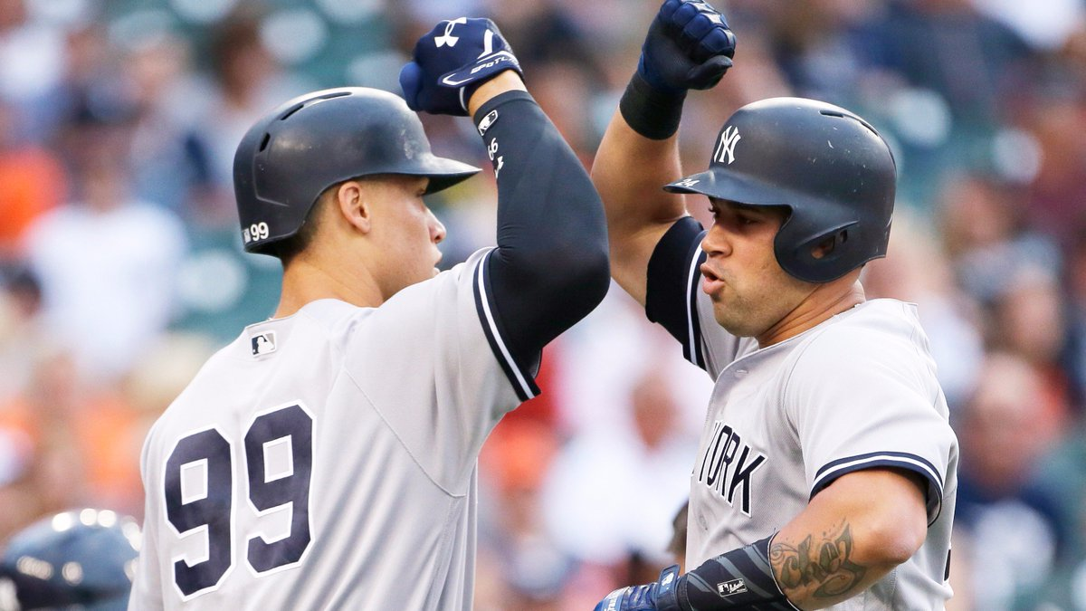 #StartSpreadingTheNews, that's a series win!  Now let's get the sweep tomorrow.  Final: Yankees 10, 🐯 2.