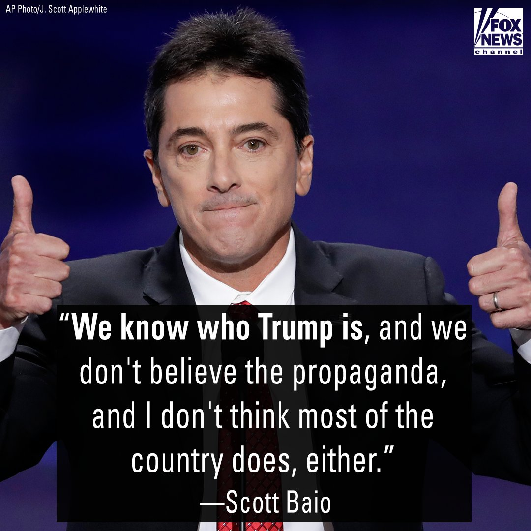 .@ScottBaio doubles down on Trump support: 'I don't give a s--t about Hollywood liberals' https://t.co/5fKznt3s74