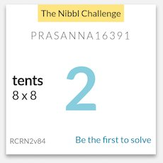 The #NibblChallenge for today is a #Tent. At this time of this tweet no one has attempted it yet. Be the first.   https:// letsNibbl.com/app  &nbsp;  <br>http://pic.twitter.com/Sgmy4eR18F