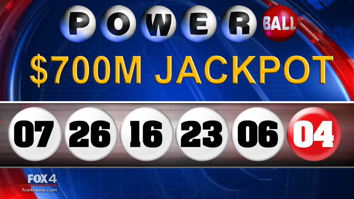 And the winning #Powerball numbers are...