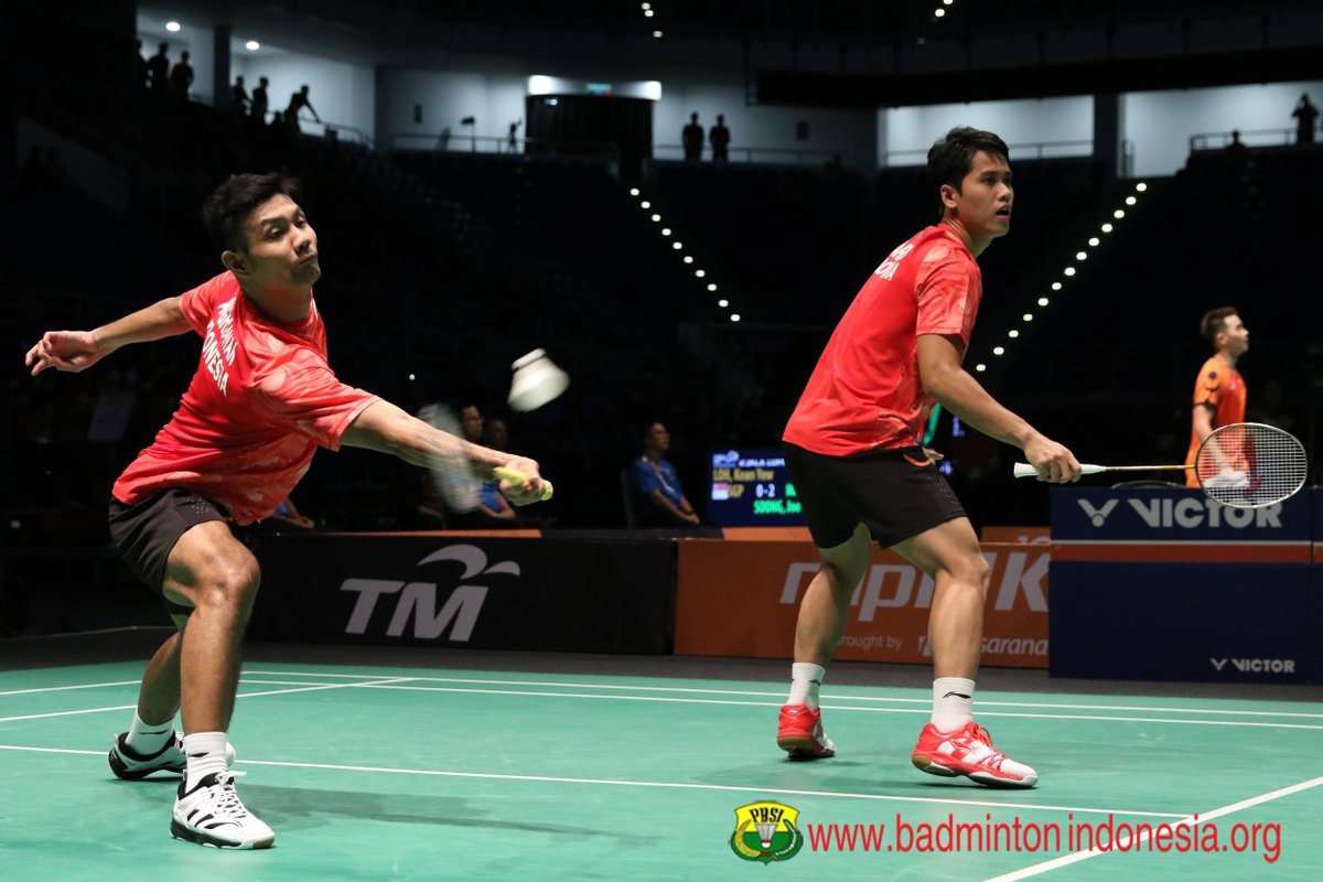 "BADMINTON INDONESIA on Twitter ""Berry Angriawan Hardianto"